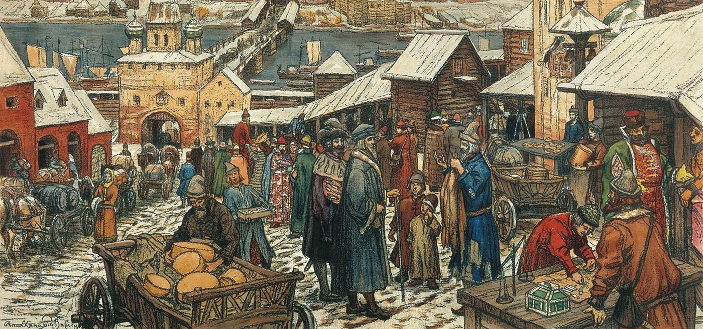 नगर, व्यापारी और शिल्पीजन
